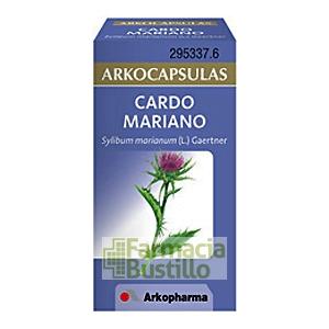 Arkocápsulas Cardo mariano Envase de 50 cápsulas