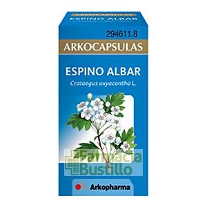 Arkocápsulas Espino albar  Envase de 50 cápsulas