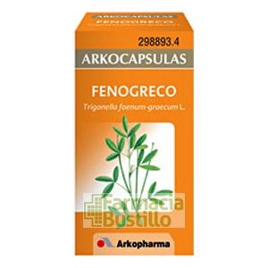 Arkocápsulas Fenogreco Envase de 50 cápsulas