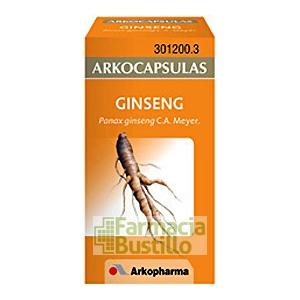 Arkocápsulas Ginseng Envase de 50 cápsulas