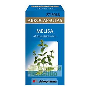 Arkocápsulas Melisa Envase de 50 cápsulas