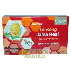 Arko Real Jalea Real Ginseng ampollas  20 ampollas