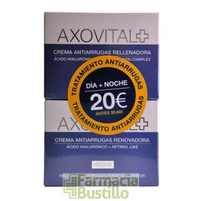 AXOVITAL DUPLO Crema Día 50ml + Crema Noche 50ml