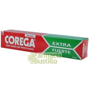 COREGA Extra Fuerte Adhesivo de Prótesis 75g