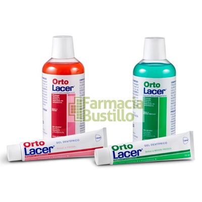 OrtoLacer Gel Dentífrico Fresa 75 ml