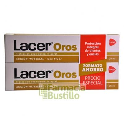 LACER DUPLO Oros Pasta Dentífrica  2x125 ml