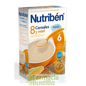 NUTRIBEN 8 Cereales y Miel Calcio 600g