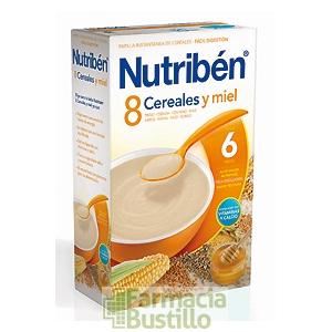 NUTRIBEN 8 Cereales y Miel 600g