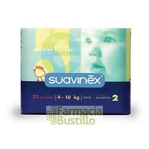 SUAVINEX Pañales Talla 2 (de 4 a 10 kg.)