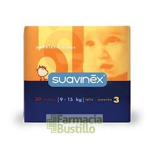 SUAVINEX Pañales Talla 3 (de 9 a 15 kg.)