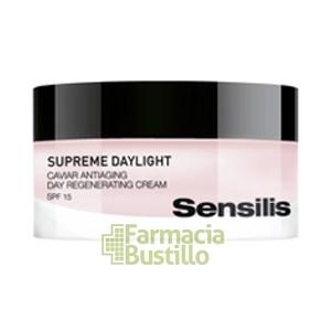 Sensilis SUPREME DAYLIGHT Crema regeneradora con caviar SPF 15