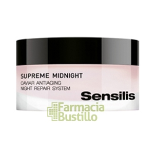 Sensilis SUPREME MIDNIGHT Crema regeneradora con caviar