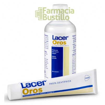 LACER Oros Pasta Dentífrica   75 ml