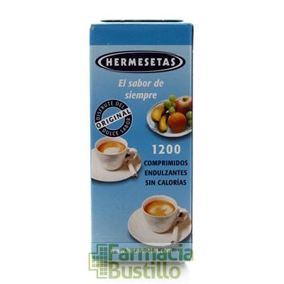 Hermesetas Sacarina Edulcorante Clásico  1200comp