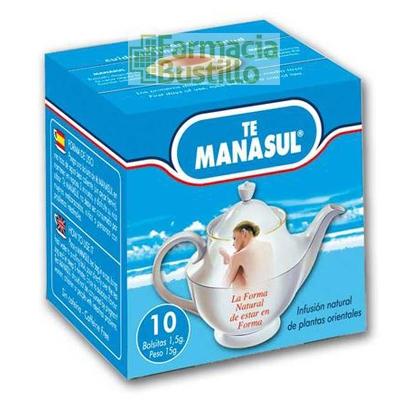 Manasul Té Adelgazante 10 bolsitas