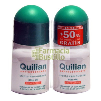 Duplo Quilian Desodorante Roll On  2 x 75ml