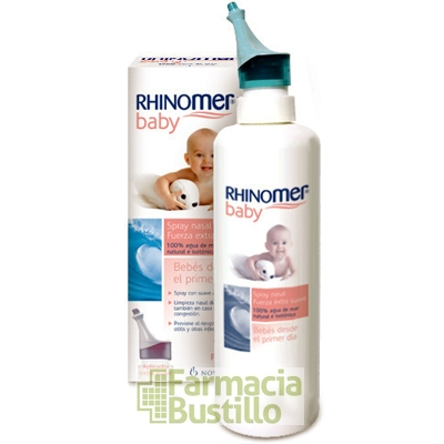 Rhinomer Baby Spray Nasal Fuerza Extrasuave  + 20%ml REGALO 135ml