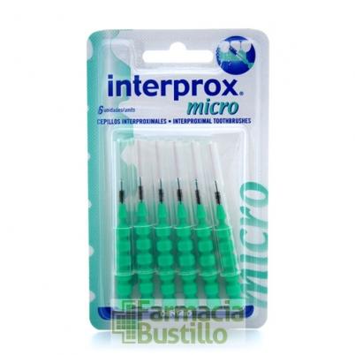 INTERPROX Cepillo INTERDENTAL Micro 6 uds