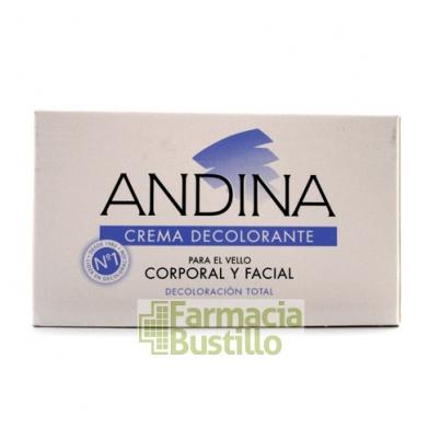 ANDINA Crema Decolorante para el vello corporal y facial  100ml