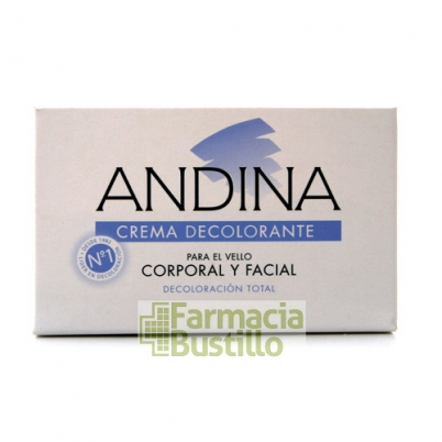 ANDINA Crema Decolorante para el vello corporal y facial  30ml