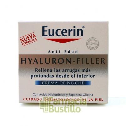 EUCERIN Hyaluron Filler Antiedad Noche Rellenador de Arrugas 50 ml
