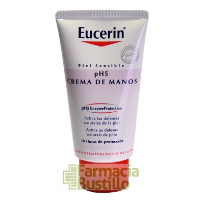 EUCERIN pH5 Crema de Manos Piel Sensible 75ml