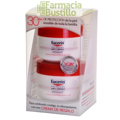 EUCERIN pH5 Crema Hidratante 100ml Piel sensible + REGALO 75ml