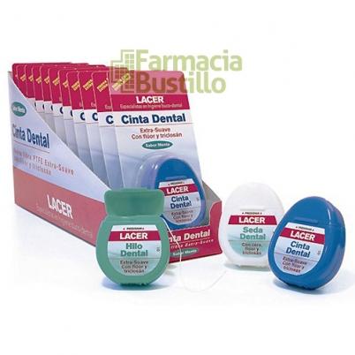 LACER Seda Dental con Cera y Fluor