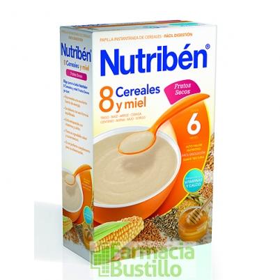 NUTRIBEN 8 Cereales y Miel Frutos Secos +6 meses 600g