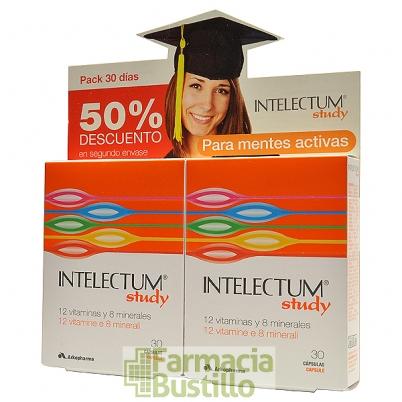 Intelectum Study Arkopharma DUPLO Mentes Activas 30+30 capsulas