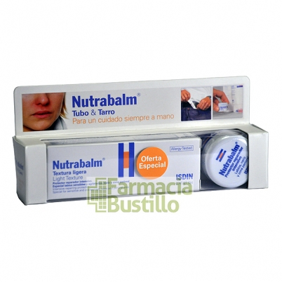 Nutrabalm ISIDIN Pack Protectores Labiales Tubo 10ml + Tarro 10ml