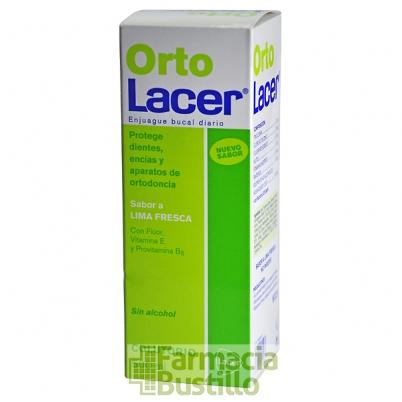 OrtoLacer Colutorio Lima Fresca 500 ml CN 164503