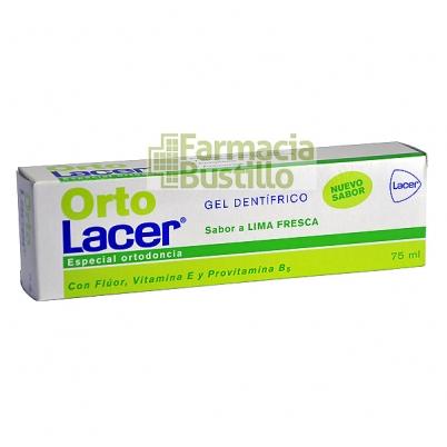 OrtoLacer Gel Dentífrico Lima Fresca 75 ml  CN 164502