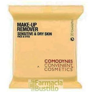 COMODYNES  Toallitas desmaquillantes Pieles Sensibles & Secas Make-up Remover CN 395319