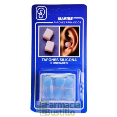 Maries Tapones de oídos de Silicona 6 unid