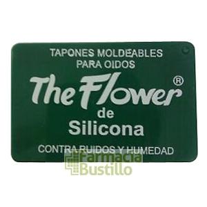 The Flower Tapones de oídos de Silicona 6 unid