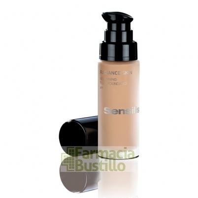 Sensilis RADIANCE SKIN Maquillaje Fluido Iluminador SPF15 30ml