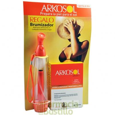ARKOSOL Advance 1 al día 30 perlas + REGALO Brumificador Naranja