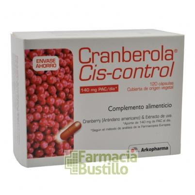 Arkocápsulas CRANBEROLA Cis-Control, 120 Cápsulas
