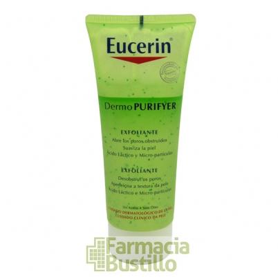 EUCERIN DermoPURIFYER Exfoliante Diario con Acido Láctico, 100ml