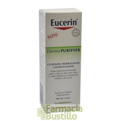 EUCERIN DermoPURIFYER Cuidado Hidratante Coadyuvante SPF 30, 50ml
