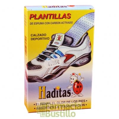 Plantillas de espuma con carbon activado HADITAS Calzado deportivo