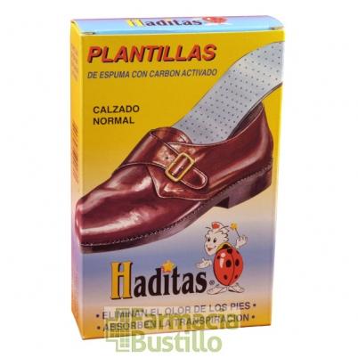 Plantillas de espuma con carbon activado HADITAS Calzado normal