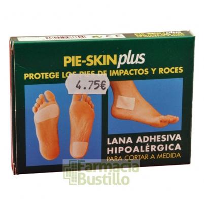 Pie-Skin Plus Protector Plantar 3 Láminas adhesiva hipoalergénica