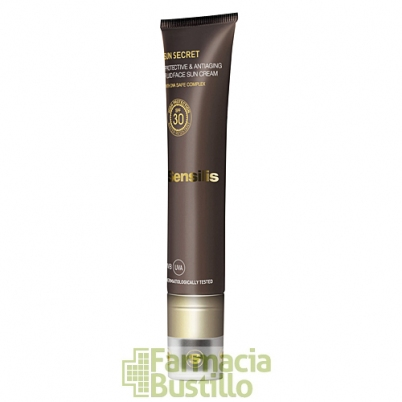 Sensilis SUN SECRET Crema Solar Facial Protectora y Antiedad SPF30+  50ml