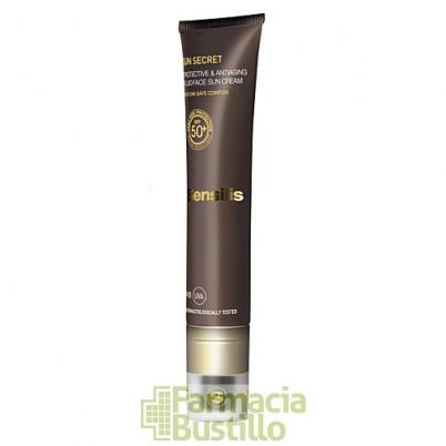 Sensilis SUN SECRET Crema Solar Facial Protectora y Antiedad SPF50+  40ml
