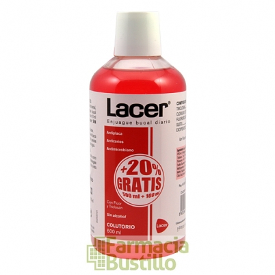 LACER Colutorio Anticaries 20% Gratis 500ml + 100ml CN 205765