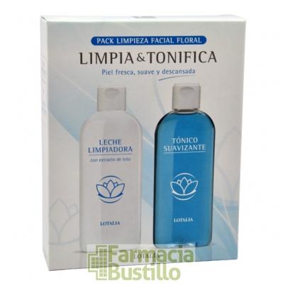 LOTALIA Leche Limpiadora 200ml + Tónico Suavizante 200ml CN 166868