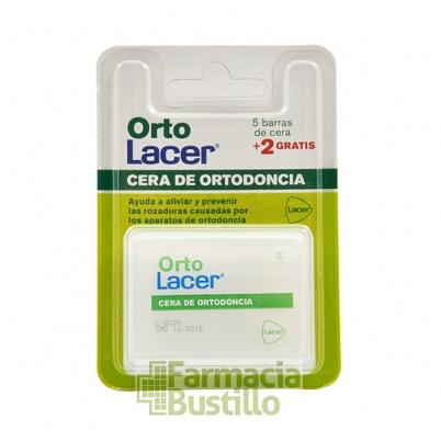 Orto Lacer Cera de Ortodoncia 5 Barritas + 2 GRATIS