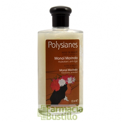 POLYSIANES Aceite de belleza cuerpo y cabello al MONOI Morinda